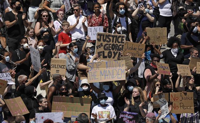 Sakshi Editorial On US George Floyd Protests