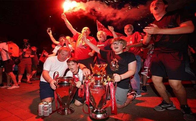 Liverpool claim first English Premier League Title In Thirty Years - Sakshi