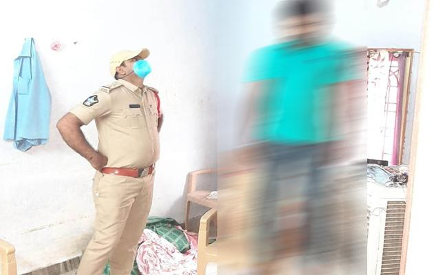 Young Man Commits Suicide in Prakasam After Conflicts With Bride - Sakshi