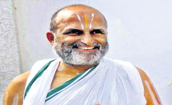 Temple Conservation Negotiator Rangarajan Writes Letter To President - Sakshi