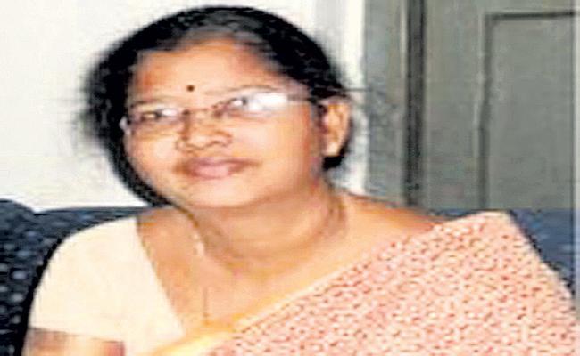 Deputy Collector Madhuri arrested in Vijayawada - Sakshi