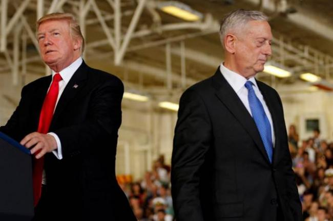 Ex Pentagon Chief Says Trump Tries To Divide Us - Sakshi