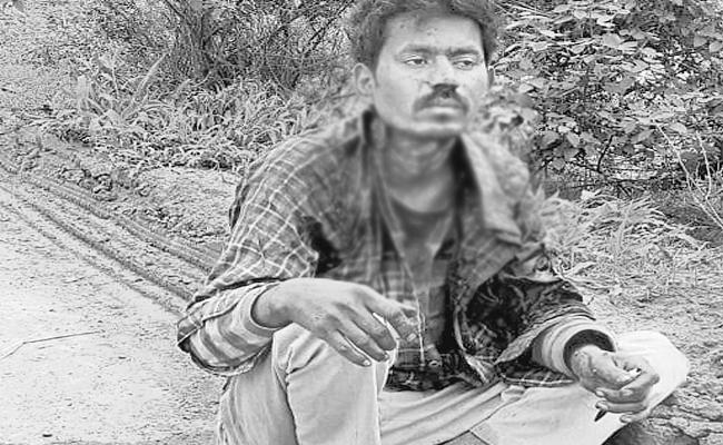 Unknown People Cut Throat And Leave in Forest Rangareddy - Sakshi