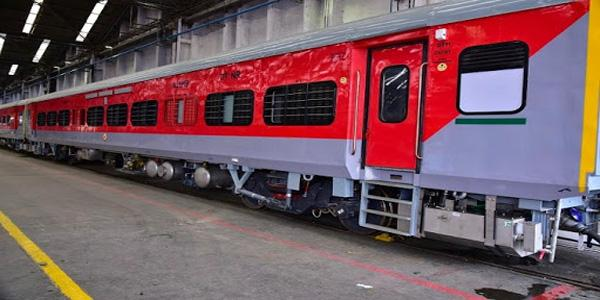 Foot Operated Taps In Train Coaches For Post Covid Phase - Sakshi