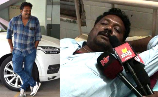 TDP Leader Harassment Car Driver Self Elimination Attempt In Bapatla - Sakshi