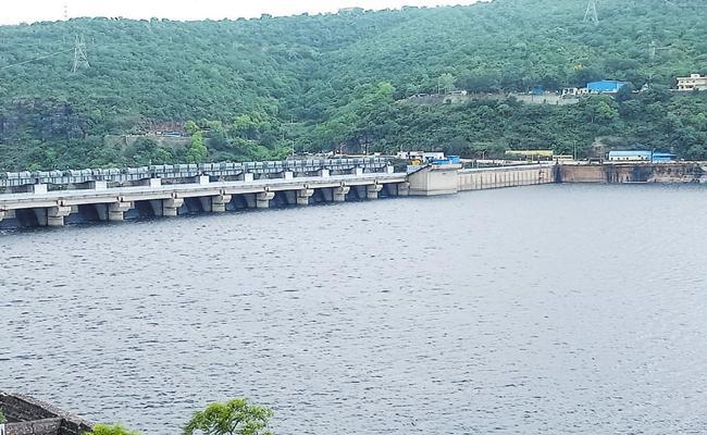 Krishna River Water To Srisailam Project - Sakshi