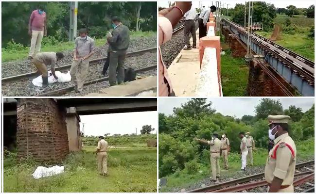 Rail Accident Take Place aT Vikarabad Railway Station Employees Dead - Sakshi