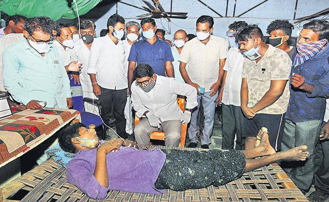 12 People Deceased With Drinking Sanitizer In AP - Sakshi