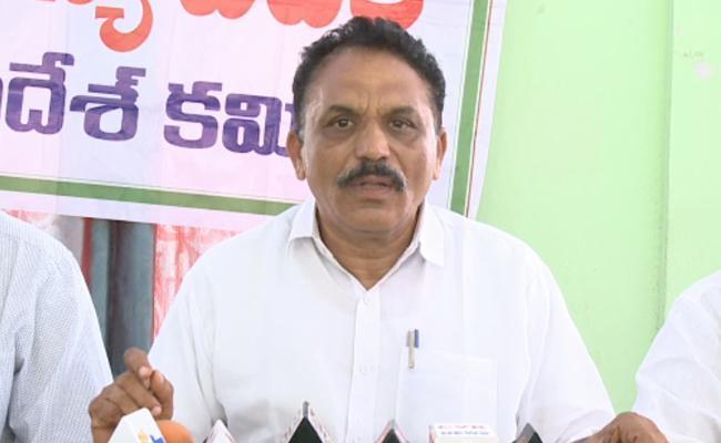 Vallam Reddy Laxma Reddy Release Press Note On AP New Industrial Policy In Guntur - Sakshi
