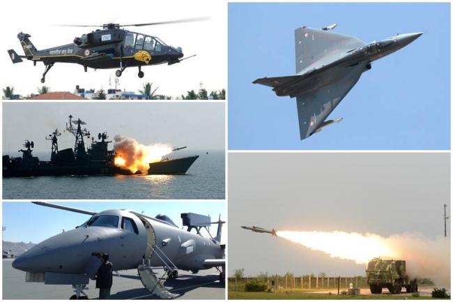 Defence shares jumps on imports ban news - Sakshi