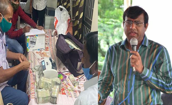 ACB Investigation On Keesara MRO Nagaraju House In Rangareddy - Sakshi