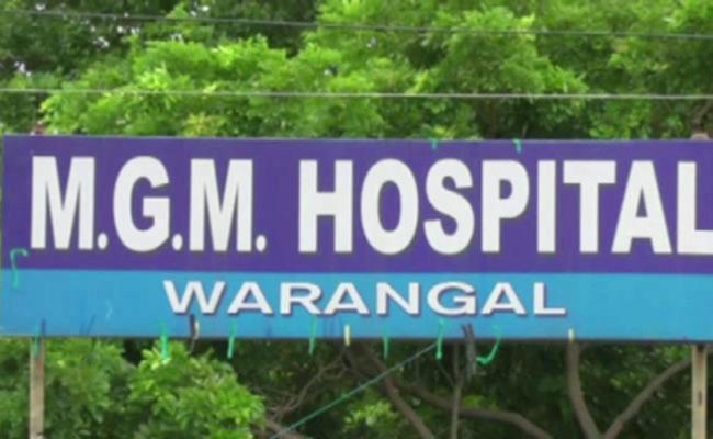 Warangal MGM Hospital Management Neglect On Corona Deceased Body - Sakshi