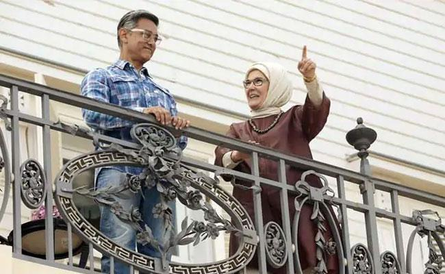 Viral Pics: Aamir Khan Meets With Turkish First Lady Emine Erdogan - Sakshi