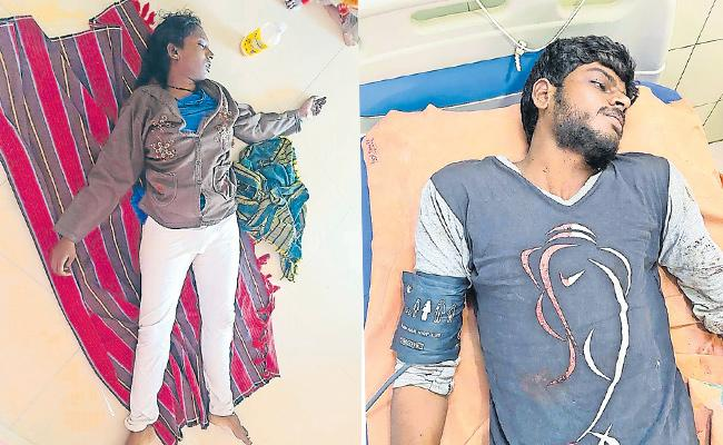 Husband Assassinated Wife And Commits Suicide Hyderabad - Sakshi