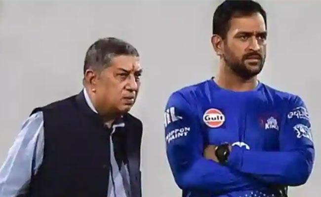 When MS Dhoni Refused To Particular Player, SrinivasanRecalls - Sakshi