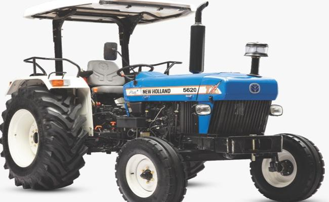 newholland agriculture 5620 Tx plus tractor - Sakshi
