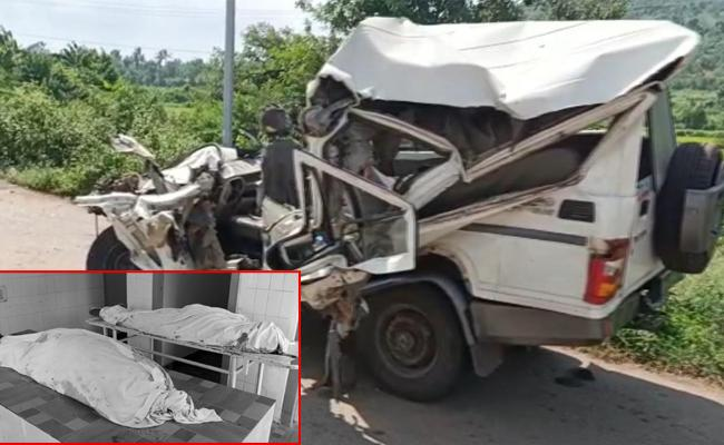 Three People Died In Road Accident Near Palasa - Sakshi