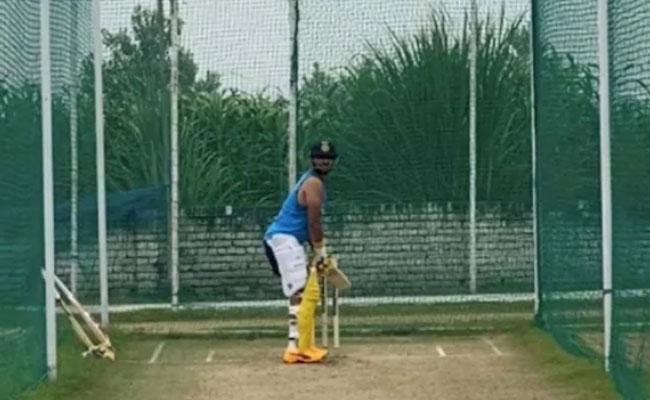 Suresh Raina Shares Video From His Net Session - Sakshi
