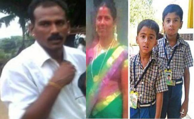 Women Assassinated Children And Takes Own Life After Husband Eloped With A Student - Sakshi