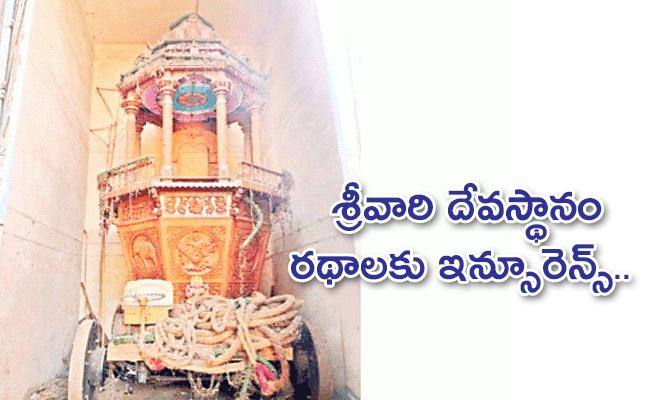 Special Measures To Preserve Chariots In Temples - Sakshi