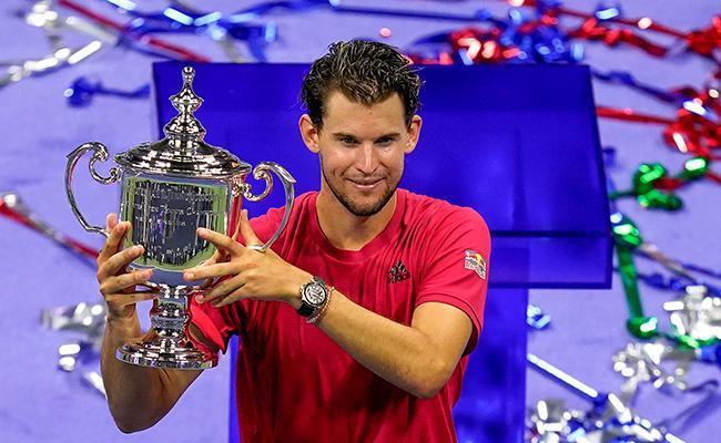 Thiem Beats Alexander Zverev To Lift Maiden Grand Slam Title - Sakshi