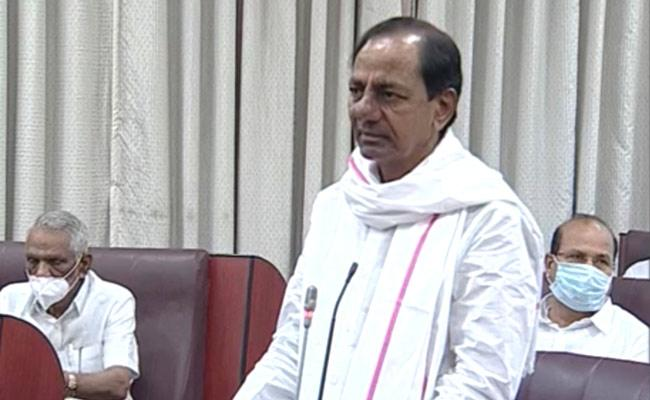 KCR Speak On New Revenue Bill In TS council 6th Day Assembly Session - Sakshi