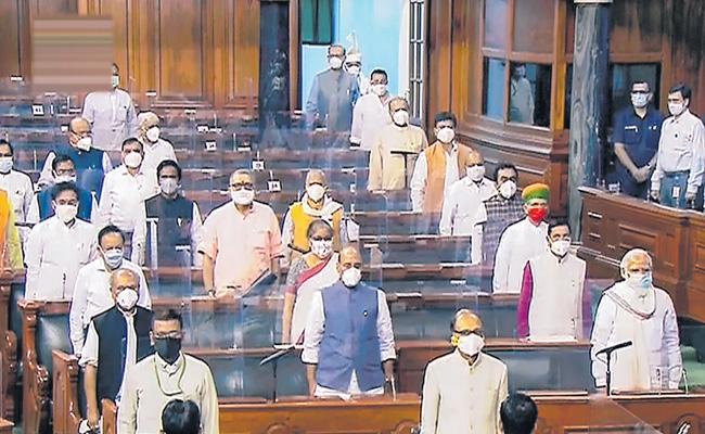 Govt Vs opposition over scrapping question hour - Sakshi