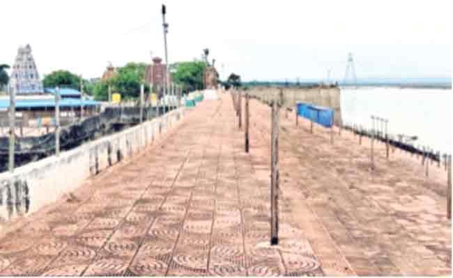 Tungabhadra Pushkar Arrangements Not Yet Completed - Sakshi