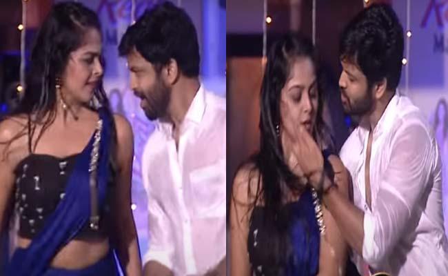 Bigg Boss 4 Telugu: Syed Sohel And Monal Gajjar Hot Dance Performance - Sakshi