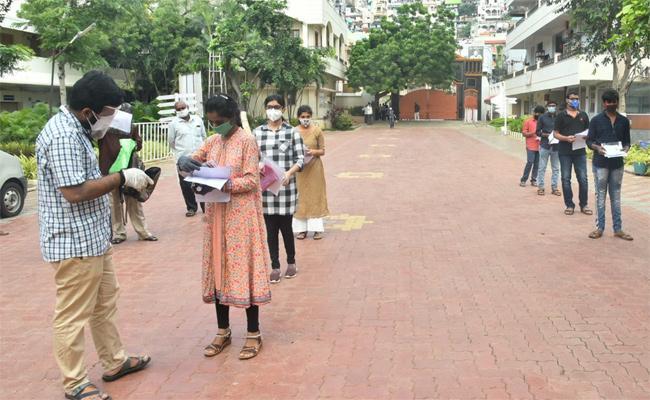 EAMCET Entrance Exam Started In Andhra Pradesh On Thursday - Sakshi