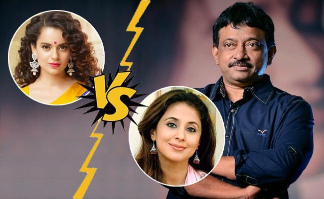 Ram Gopal Varma Backs Urmila Matondkar Says Proved Versatile Talent - Sakshi