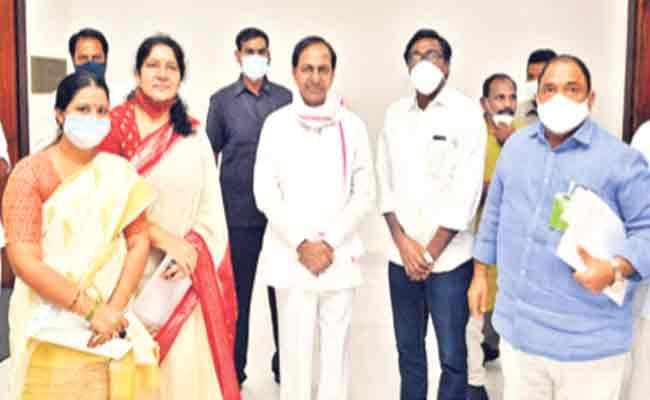 Puvvada Ajay Kumar Asked KCR To Visit Sitaram Project - Sakshi