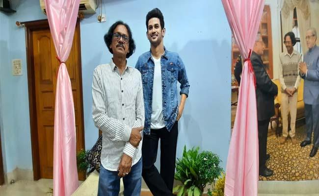 Sculptor Creates Wax Statue In Memory Of Sushant Singh Rajput - Sakshi