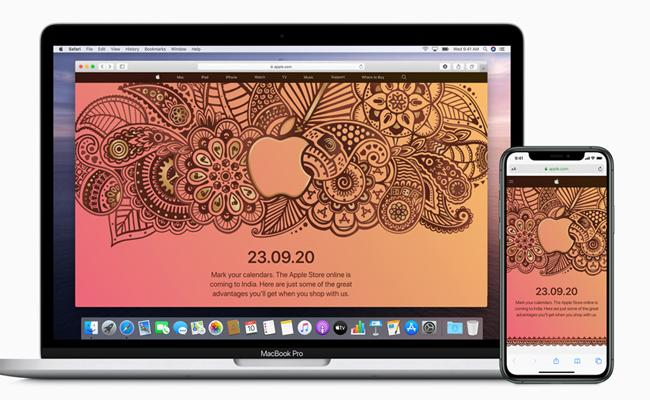 Apple set to launch first online store in India on September 23 - Sakshi