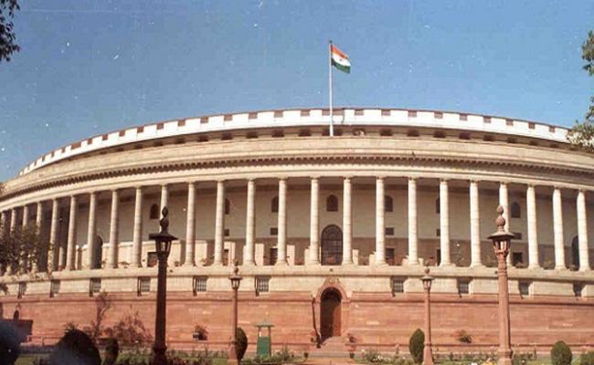 Lok Sabha proceedings were adjourned four times on Friday - Sakshi