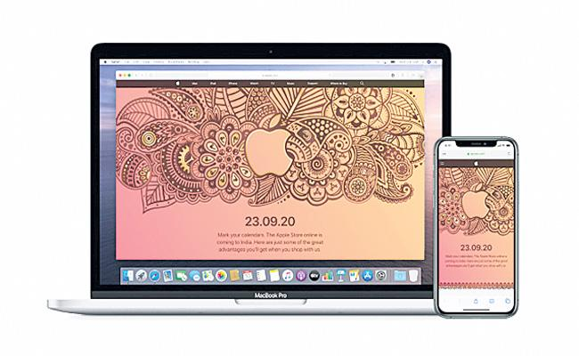 Apple brings online store to India September 23 - Sakshi