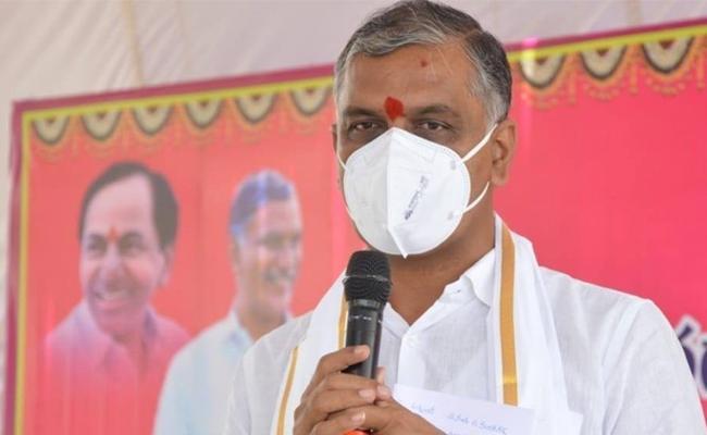Minister Tanneru Harish Rao Visits Dubbaka Constituency In Siddipet - Sakshi