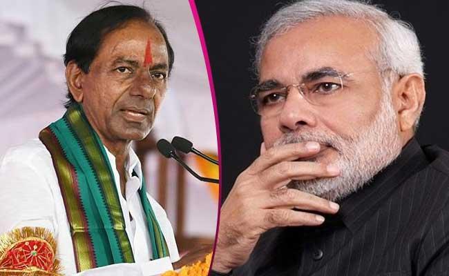 TRS Political Strategy Against BJP In Central Level - Sakshi