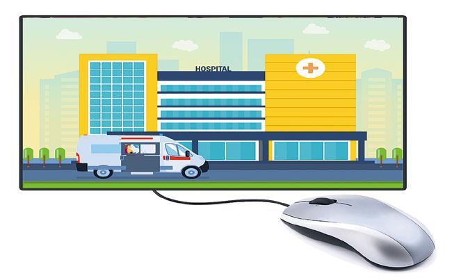 Registration of hospitals in online itself - Sakshi