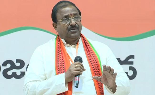 AP BJP President Somu Veerraju Over Farm Bill - Sakshi