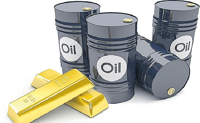 Gold and Crude prices down fall - Sakshi