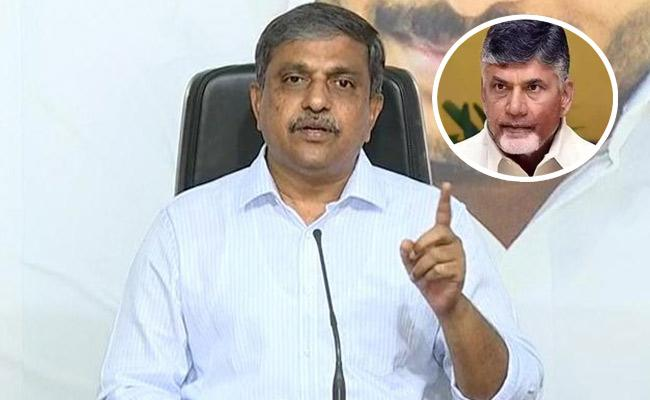 Sajjala Ramakrishna Reddy Comments On Chandrababu In Twitter - Sakshi