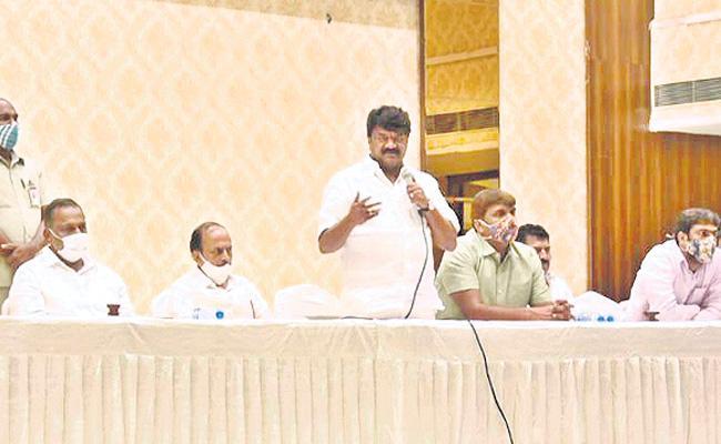 Talasani Srinivas Yadav Speech On MLC Elections - Sakshi