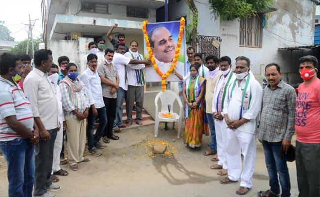 YS Rajasekhara Reddy Death Anniversary Celebrations In Khammam - Sakshi
