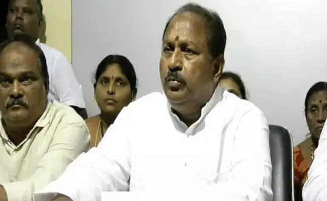 YSRCP MLA Kottu Satyanarayana Firs On Chandrababu - Sakshi