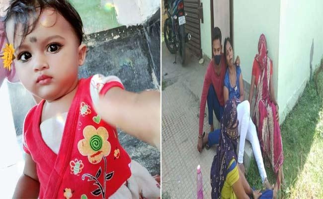Child Fell In Water Tank And Deceased At Sompeta - Sakshi