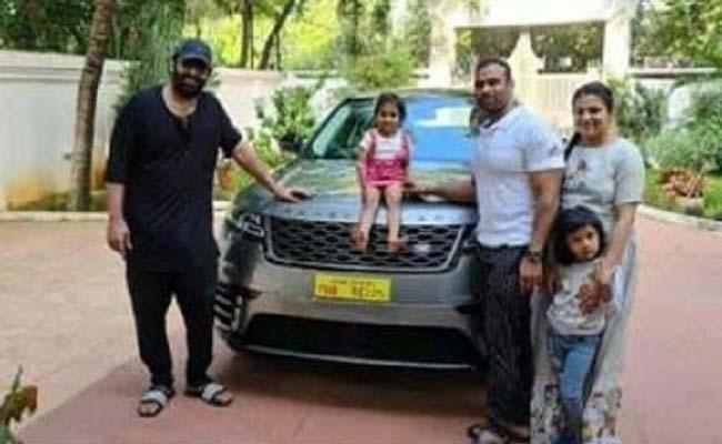 Prabhs Gift Range Rover Car To His Gym Trainer - Sakshi