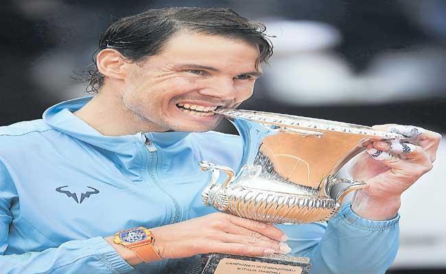 Rafael Nadal Wants To Play In Italian Open Tennis Tournament - Sakshi