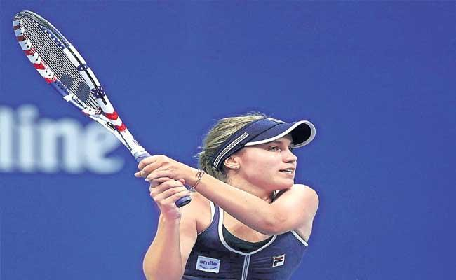 Sofia Kenin Crashes Out Of US Open - Sakshi